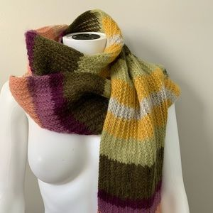 Missoni Multi-Color Knit Scarf